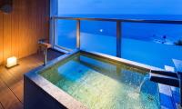 露天風呂付客室のある宿